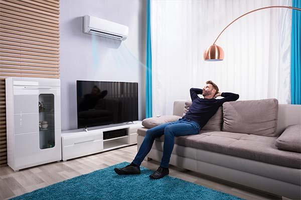 Klimaanlage nachrüsten Wohnzimmer